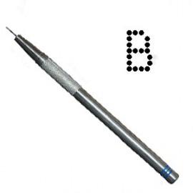 PCA outil de perforation fin lettre B