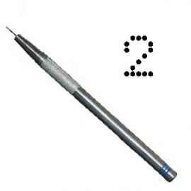 PCA outil de perforation fin nombre 2