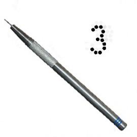 PCA outil de perforation fin nombre 3