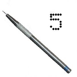 PCA outil de perforation fin nombre 5