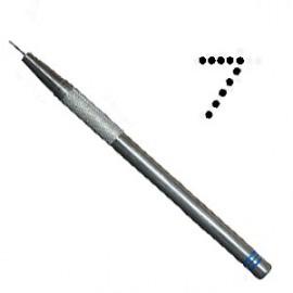 PCA outil de perforation fin nombre 7