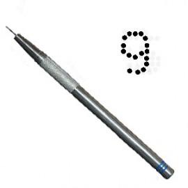 PCA outil de perforation fin nombre 9