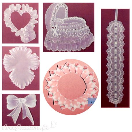 Patrons dentelle papier PCA Lindy Hoad parchment craft memories vol 1