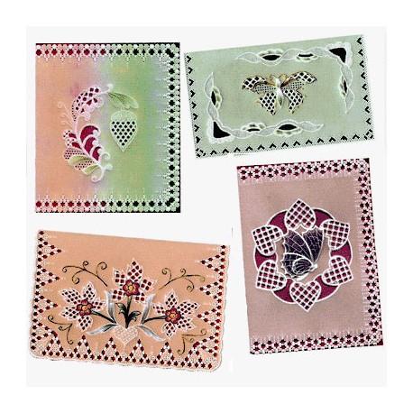 Patrons dentelle de papier PCA Pauline Loweth a love of lace
