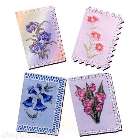 Patrons dentelle de papier PCA Pauline Loweth fleurs et lace 1