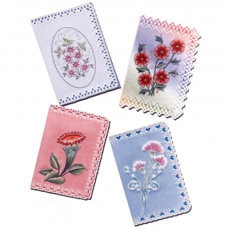 Patrons dentelle de papier PCA Pauline Loweth fleurs et lace 2