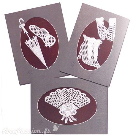 Patrons dentelle de papier PCA Pauline Loweth lace motifs 1