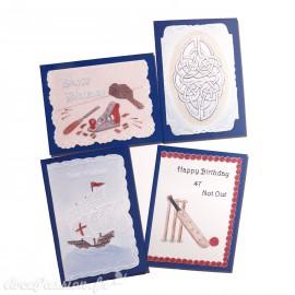 Patrons dentelle de papier PCA Pauline Loweth gentlemen's cards 2