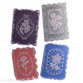 Patrons dentelle de papier PCA Pauline Loweth lace camée cards