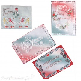 Patrons dentelle de papier PCA Pauline Loweth Noël christmas greetings