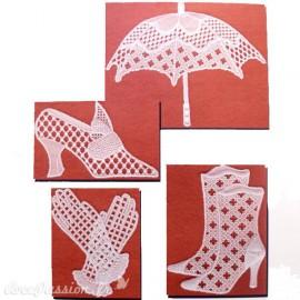 Patrons dentelle de papier PCA Pauline Loweth lace motifs 2