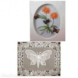 Patrons dentelle de papier PCA Pauline Loweth Butterfly Pictures