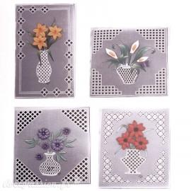 Patrons dentelle de papier PCA Pauline Loweth Flexi Flowers