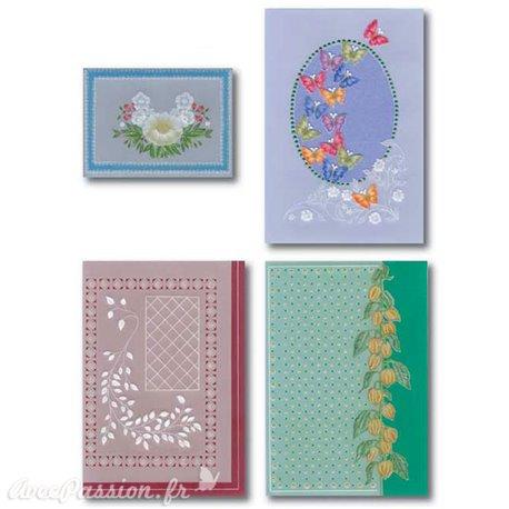Patrons dentelle de papier fleurs PCA Aileen Childs motif 13