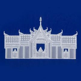 Patrons dentelle de papier PCA Aileen Childs temple