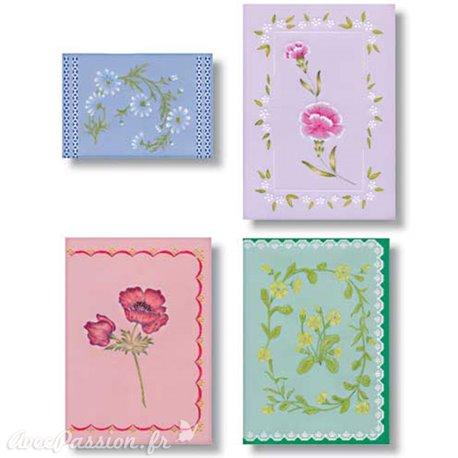 Patrons dentelle de papier PCA Aileen Childs motif fleurs 31