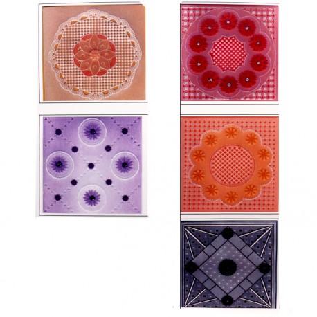 Patrons dentelle de papier PCA Karen Shaw Lace Flowers