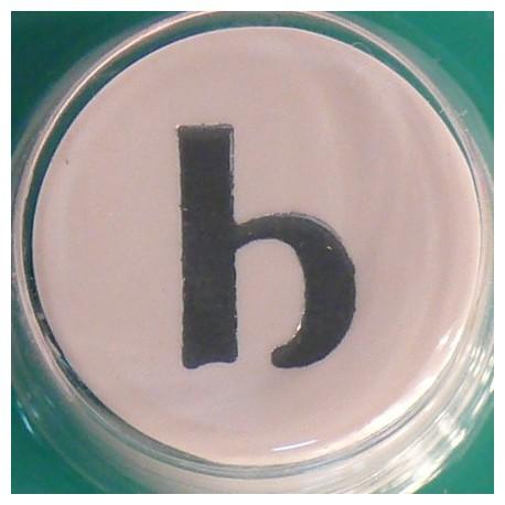 Perforatrice alphabet lettre minuscule b 8mm