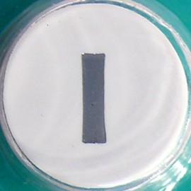 Perforatrice alphabet lettre minuscule l 8mm