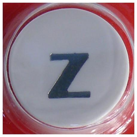 Perforatrice alphabet lettre minuscule z 5mm