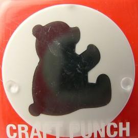 Perforatrice ours côté jumbo 2x2cm BEARAVacp39