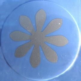 Perforatrice géante fleur marguerite 8 pétales 3.8cm