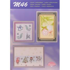 Pergamano modèles patron M46 noel