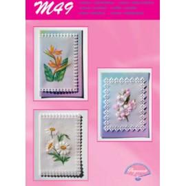 Modèles Pergamano patron M49 beautés florales