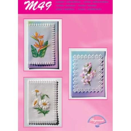 Pergamano modèles patron M49 beautés florales