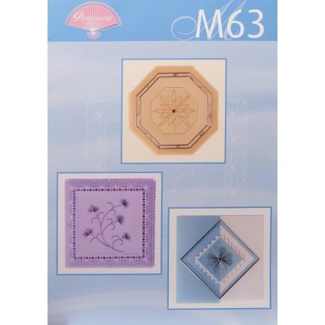 Pergamano modèles patron M63 broder du papier parchemin