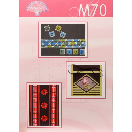 Modèles Pergamano patron M70 noir en couleur