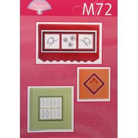 Modèles Pergamano patron M72 broder sur parchemin