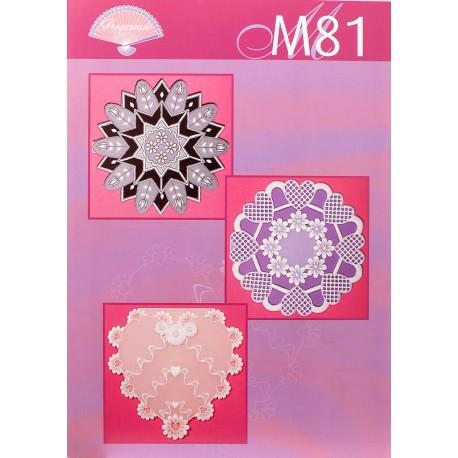 Modèles Pergamano patron M81 travail en blanc pittoresque