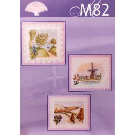 Pergamano modèles patron M82 paysages
