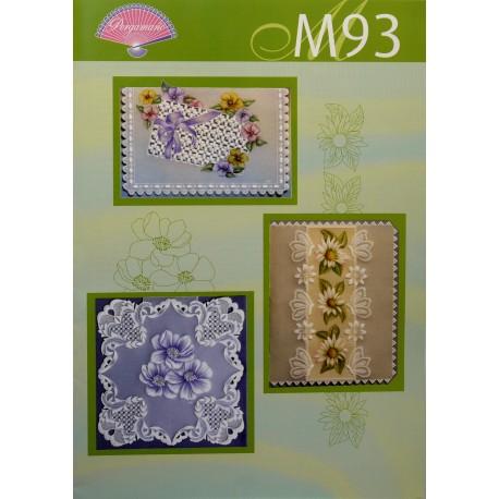 Pergamano modèles patron M93 fleurs printanières