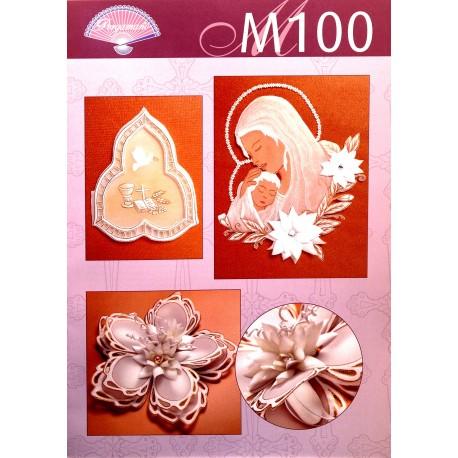 Pergamano modèles patron M100 motifs religieux Elisa Giudici