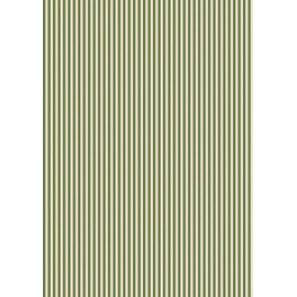 Pergamano feuille parchemin vert olive traits 61819 à l'unité