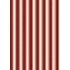 Pergamano feuille parchemin rouge velours traits 61820 à l'unité