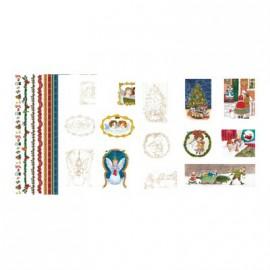 Pergamano assortiment papier parchemin anges victorien 62589 5 feuilles