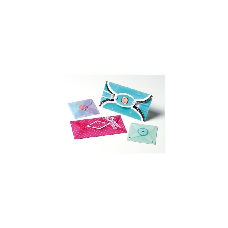 Gabarit boite papier enveloppe pergamano loisirs cr atifs achat - Gabarit boite en papier ...