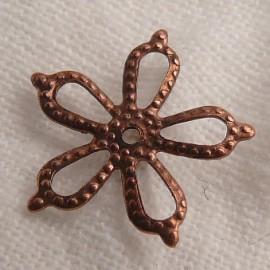 Estampe métal étoile cuivre