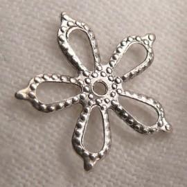 Estampe métal étoile vieil argent