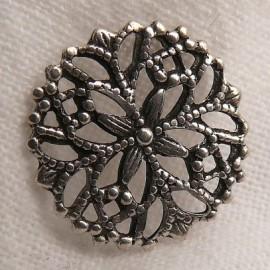 Estampe métal flocon vieil argent