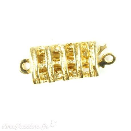 Apprêt Fermoirs collier doré échelle 1 rang