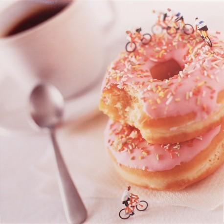 Carte postale donuts