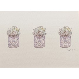 Carte postale fleurs lavande