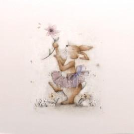 Carte postale Berni Parker's lapin