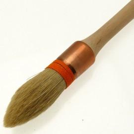 Pinceau à colle grosse brosse à rechampir n°2 sortie 68 diam 21