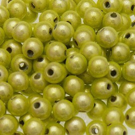 Perles fantaisie miracle citrus 4mm qu50