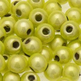 Perles fantaisie miracle citrus 6mm qu20